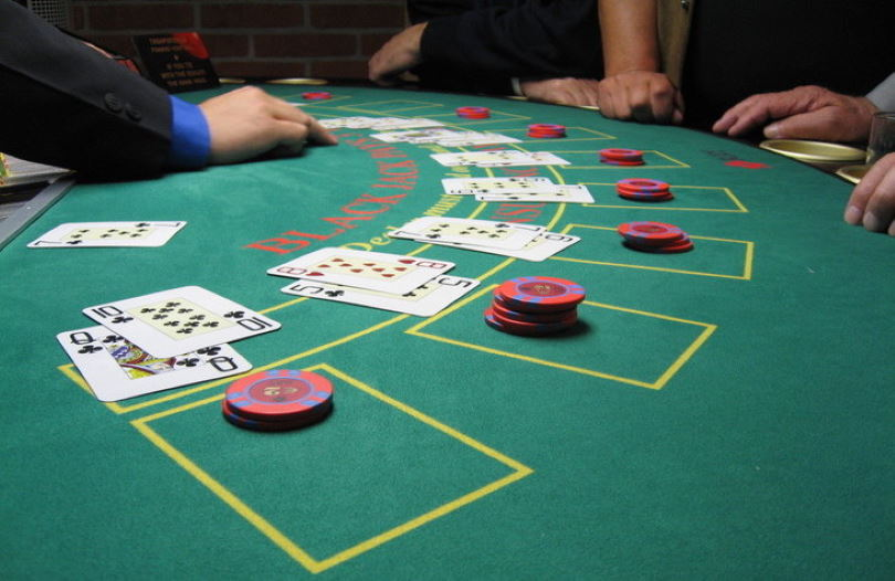 Playing Baccarat at a Casino