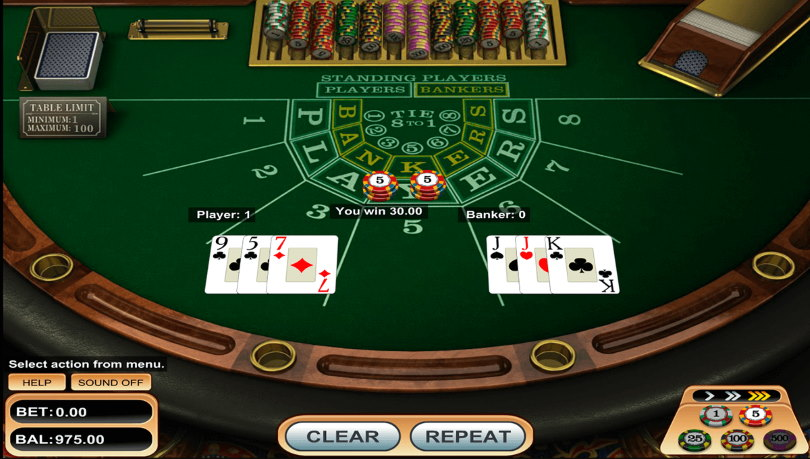 Tips for Playing Baccarat Online