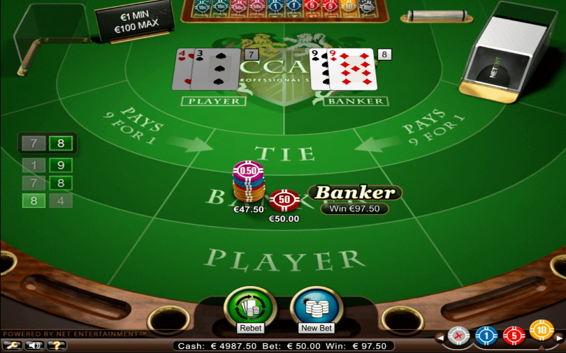 Betting Tips in Baccarat